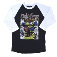 PINK FLOYD The Wall Vintage ラグラン ロングスリーブ Tシャツ