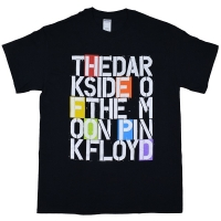 PINK FLOYD Stencil Letters Tシャツ