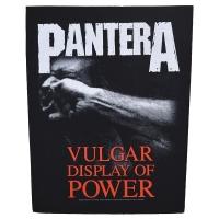 PANTERA Vulgar Display Of Power バックパッチ