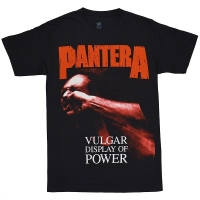 PANTERA Red Vulgar Display Of Power Tシャツ