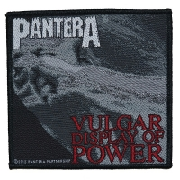 PANTERA Vulgar Display Of Power Patch ワッペン