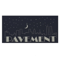 PAVEMENT Night Falls ステッカー