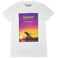 QUEEN Movie Poster Tシャツ WHITE