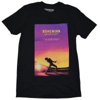 QUEEN Movie Poster Tシャツ BLACK