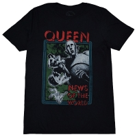 QUEEN News Of The World Tシャツ