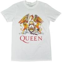 QUEEN Classic Crest Tシャツ WHITE