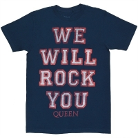 QUEEN We Will Rock You Tシャツ