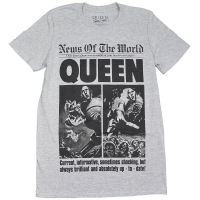 QUEEN News Of The World 40th Front Page Tシャツ