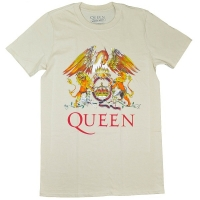QUEEN Classic Crest Tシャツ NATURAL
