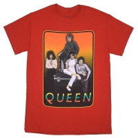 QUEEN Red Frame Tシャツ