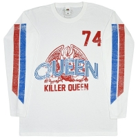 QUEEN Killer Queen 74 Stripes ロングスリーブ Tシャツ