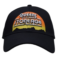QUEENS OF THE STONE AGE Sunrise Logo スナップバックキャップ