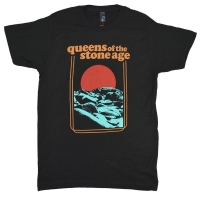 QUEENS OF THE STONE AGE Red Sun Tシャツ