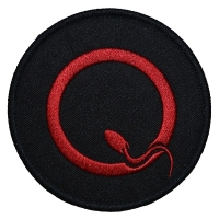 QUEENS OF THE STONE AGE Q Logo Patch ワッペン