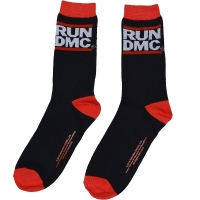 RUN DMC Logo ソックス