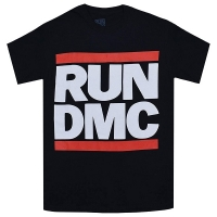 RUN DMC Logo Tシャツ BLACK