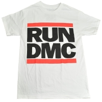 RUN DMC Logo Tシャツ WHITE