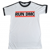RUN DMC Horizontal Logo Soccer Tシャツ