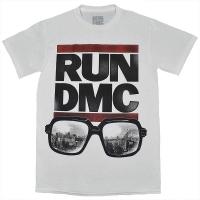 RUN DMC Glasses NYC Tシャツ WHITE