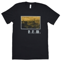R.E.M. Athens Postcard Throwback Tシャツ