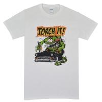 RAT FINK Torch It Tシャツ