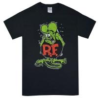 RAT FINK Rat Fink Tシャツ BLACK