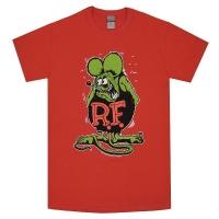 RAT FINK Rat Fink Tシャツ RED