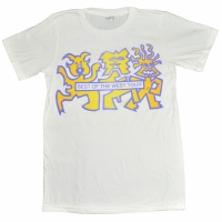 RED HOT CHILI PEPPERS BEST OF THE WEST TOUR Tシャツ