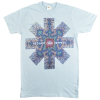 RED HOT CHILI PEPPERS Kaleidoscope Tシャツ LIGHT BLUE