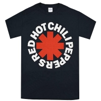 RED HOT CHILI PEPPERS Asterisk Logo Tシャツ BLACK