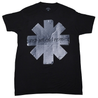 RED HOT CHILI PEPPERS Duct Tape Asterisk Tシャツ