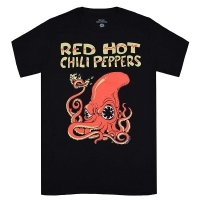 RED HOT CHILI PEPPERS Fire Squid Tシャツ