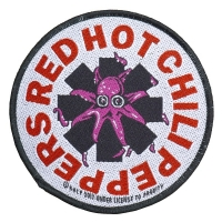 RED HOT CHILI PEPPERS Octopus Patch ワッペン