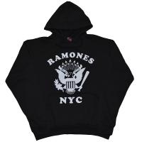 RAMONES Retro Eagle NYC プルオーバー パーカー
