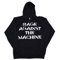 RAGE AGAINST THE MACHINE Large Fist ZIP フード パーカー