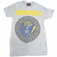 RAMONES Yellow And Blue Seal Tシャツ