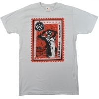 RAGE AGAINST THE MACHINE Postage Stamp Tシャツ