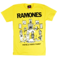 RAMONES Happy Family Tシャツ