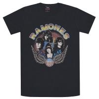 RAMONES Vintage Wing Tシャツ