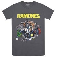 RAMONES Road To Ruin Tシャツ GREY