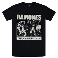 RAMONES CBGB 1978 Tシャツ