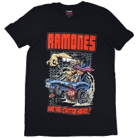 RAMONES Outta Here Tシャツ