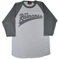 RAMONES Baseball Logo ラグラン ロングスリーブ Tシャツ