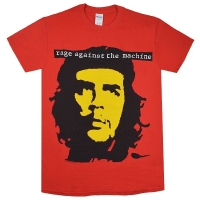 RAGE AGAINST THE MACHINE Che Red Tシャツ