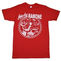 RAMONES Marky Drums Icon Tシャツ