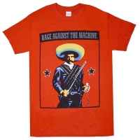 RAGE AGAINST THE MACHINE Zapata Tシャツ