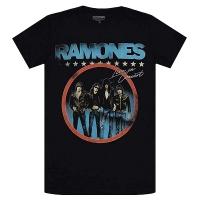 RAMONES Circle Photo Tシャツ