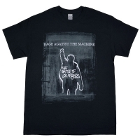 RAGE AGAINST THE MACHINE BOLA Euro Tour Tシャツ