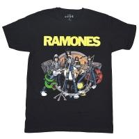 RAMONES Road To Ruin Tシャツ BLACK