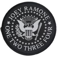 RAMONES Joey Ramone Seal Patch ワッペン